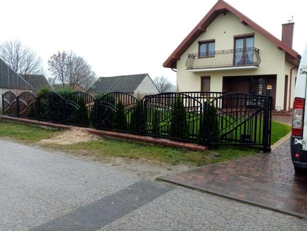 Bramy, furtki ogrodzenia, balustrady, panemontaż, produkcja.Minikopark