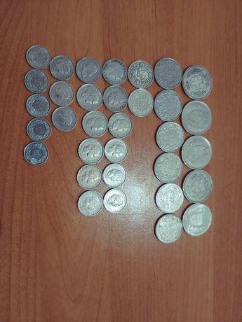 Монеты Швейцарии,39 штук