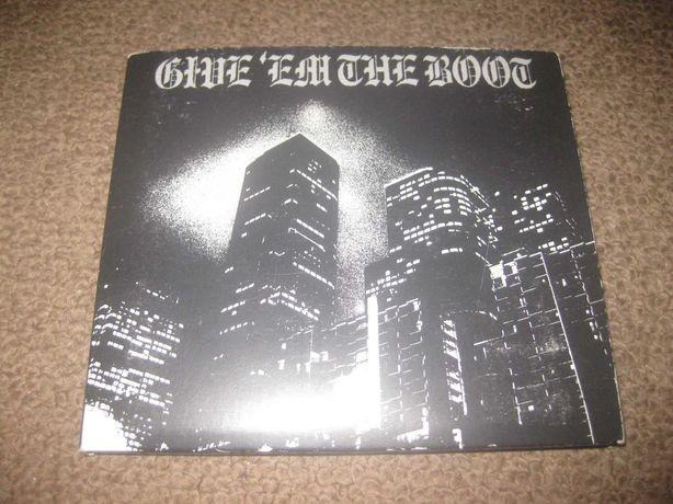 """CD Coletânea """"Give `Em The Boot"""" Digipack/Portes Grátis!"""