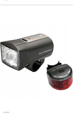 Zestaw lampek rowerowych Sigma Ellipsoid + Diode nowe