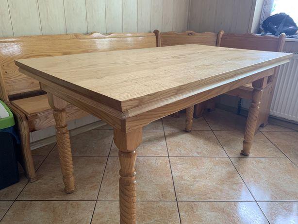 Stół i narożnik dębowy