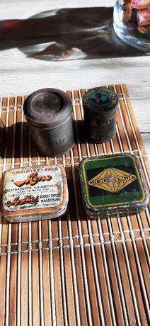 Kolekcja Stare metalowe puszki