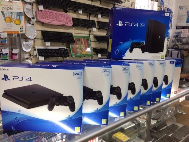 PlayStation 4 Slim / 1Тb 28000р. Гарантия Маяк М27.