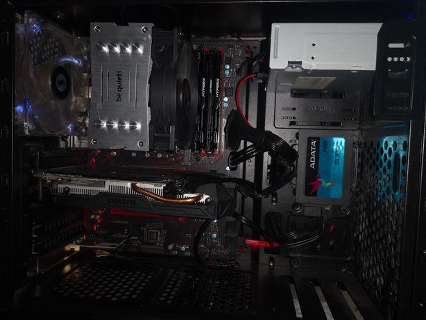 Komputer PC Gtx10606gb i5-7600k Gigabyte Intel beQuiet