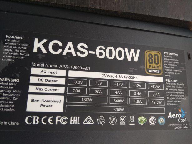Aerocool KCAS 600w