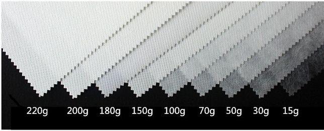 Rolos de tecido TNT várias gramagens em branco e cores