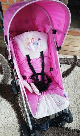 Spacerówka różowa Princess dream