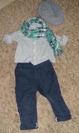 Рубашка Zara baby до 1,5 года
