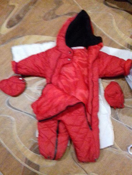 Продам курточку детский комбинезон с утеплителем