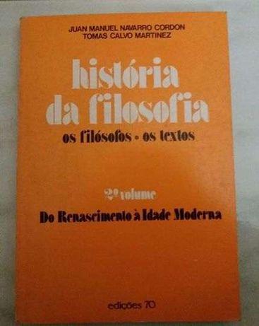 """Livro """"história da filosofia """""""
