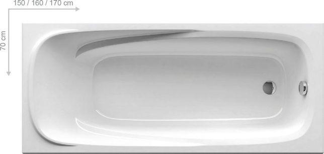 Ванна Ravak VANDA II 160x70+Опора Lilia 120x70 все новое в пленке!