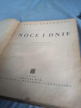 Książka noce i dnie 1950