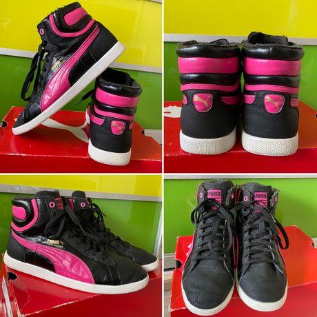 Хайтопы puma 38 adidas 24 nike высокие reebok кроссовки h&m ботинки 39