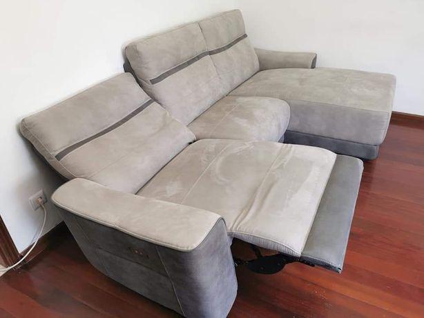 Sofa conforama  reclinavel