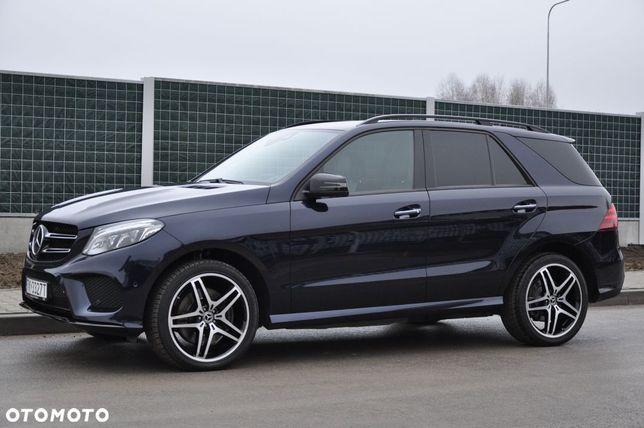 Mercedes-Benz GLE 500 V8 4MATIC 4x4 Krajowy 100% Bezwypadkowy I Właściciel Mały przebieg