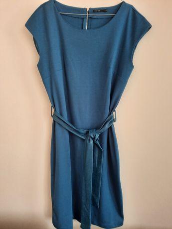 Niebieska sukienka CARRY