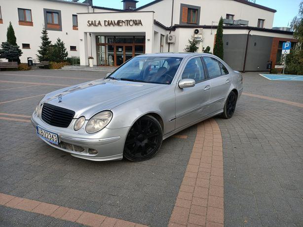 Mercedes-Benz w211 2.7 CDI 200km! Zamiana