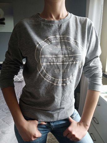 Szary sweterek H&M