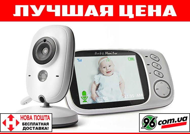 """Видеоняня радионяня VB603 с экраном 3,2"""" термометром, видео радио няня Одесса - изображение 1"""