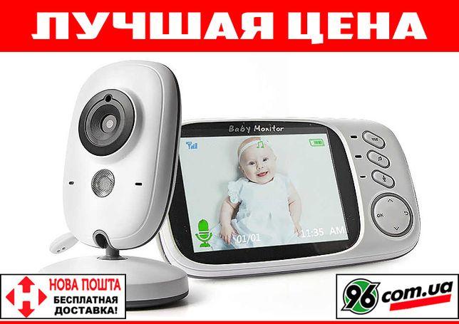 "Видеоняня радионяня VB603 с экраном 3,2"" термометром, видео радио няня"
