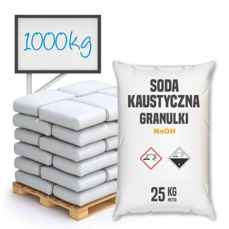 Soda Kaustyczna granulki 1000 kg
