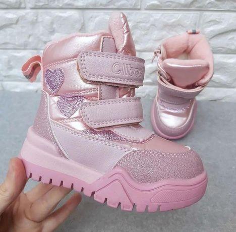 Зимние ботинки сапожки для девочки