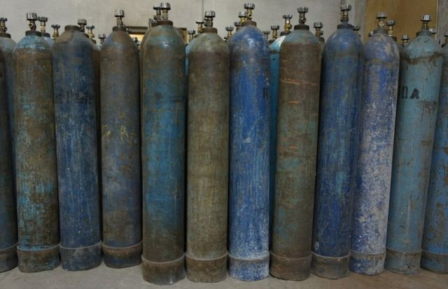 Баллоны углекислотные, кислородные 40л нужны в любом количестве