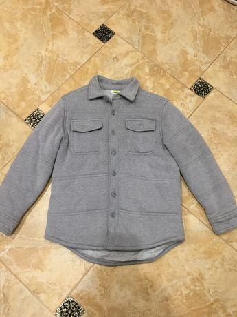 Продам куртку-рубашку для мальчика 7-8 лет