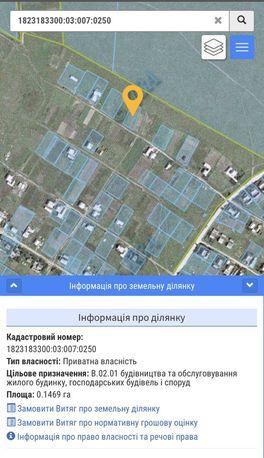 Земельна ділянка Любарский район