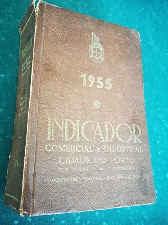 """Livro 1955 """" O Indicador"""""""