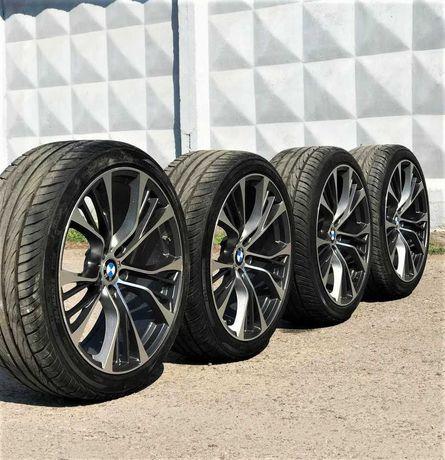 Диски R22 с резиной BMW X5 F15 Титаны Титани БМВ Х5 Ф15 Разборка
