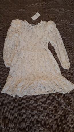 Кружевное платье ZARA размера S