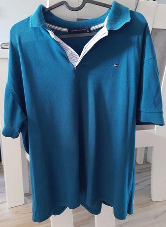 Koszulka Tommy Hilfiger + kurtka z kapturem