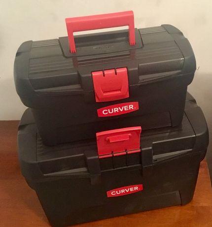 Zestaw skrzynek narzędziowych 13 + 16 nowe wysyłka
