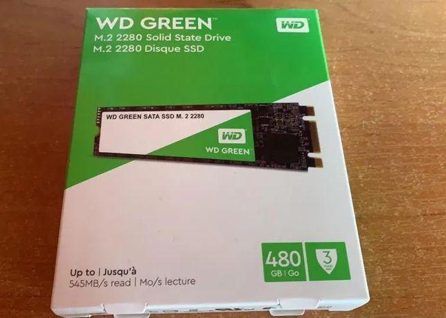 Dysk SSD Western Digital Green 480 GB M.2 2280 SATA III (WDS480G2G0B )