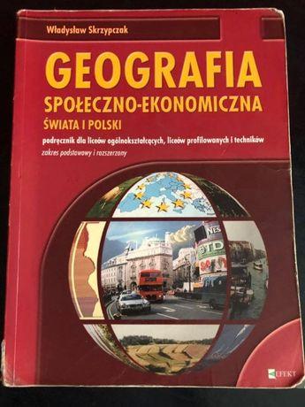 """""""Geografia społeczno-ekonomiczna świata i Polski"""" Władysław Skrzypczak"""