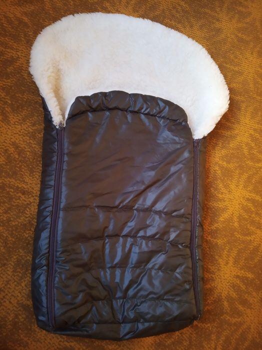 Зимовий конверт в коляску або на санки Мшана - изображение 1