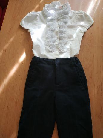 Школьная форма 1-2 класс. Блузка и штаны, брюки.