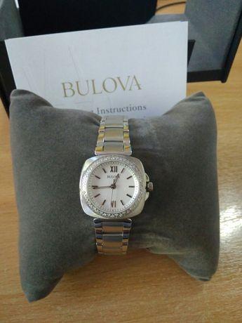 Часы бриллианты булова bulova подарок
