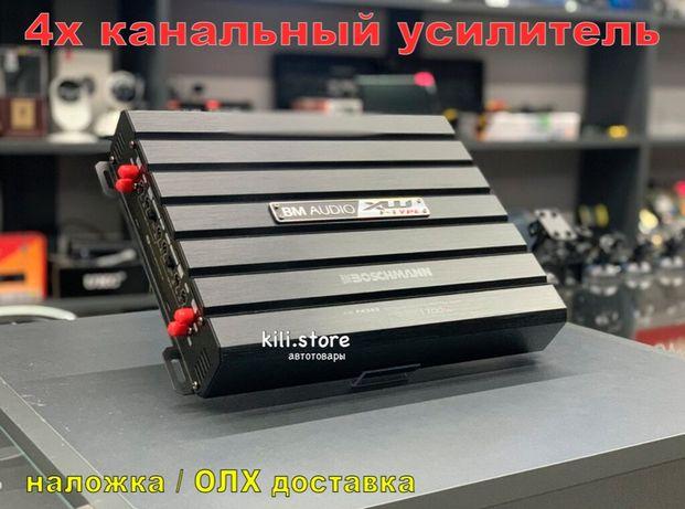 УСИЛИТЕЛЬ звука Boschman BM Audio BM-4399 4-х канальный Автомобильный