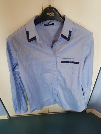 Niebieska koszula rozmiar M