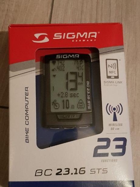 Sigma BC 23.16 STS bezprzewodowy z kadencją licznik rowerowy nowy
