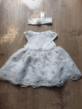 Sukienka Cool Club chrzest, ślub, komunia,