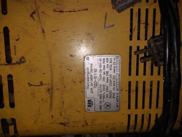 Трансформатор для дуговой сварки ТДЭ-101 У2