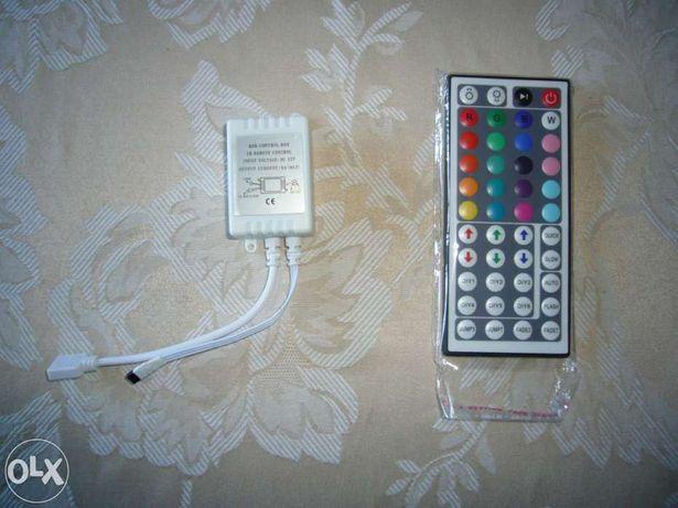 Comando + controlador para fitas leds 44 teclas - novo