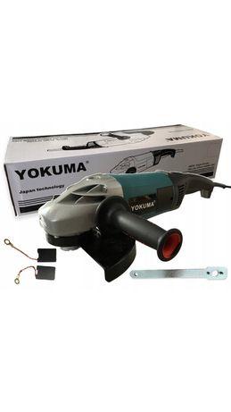 Szlifierka kątowa 2400W 230mm YOKUMA JM230 mocna