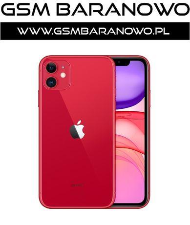 Apple iPhone 11 128GB Red / Czerwony - Gsmbaranowo.pl