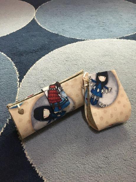 Conjunto porta-moedas e porta-chaves