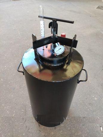 (16шт-0.5л. банок ; 5шт-1л. банок) Автоклав с клапаном