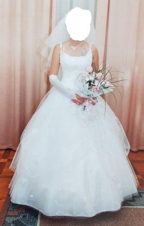 Свадебное платье 36 размер
